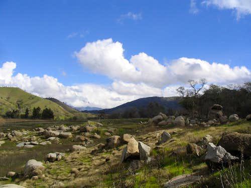 Slick Rock Boulders looking East