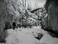 Canyon in Alberta