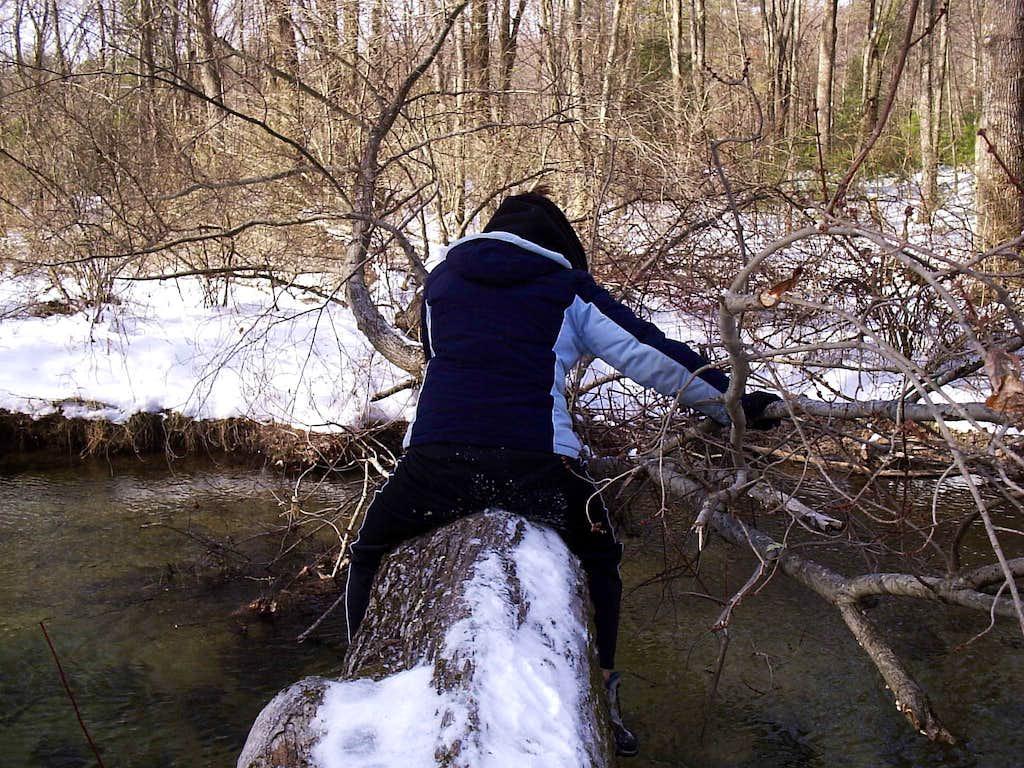 Crossing Clarks Creek