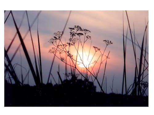Izery's sunset...