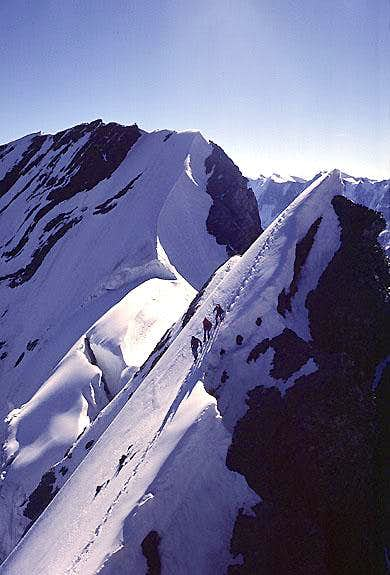 Blümlisalphorn, Northeast Ridge