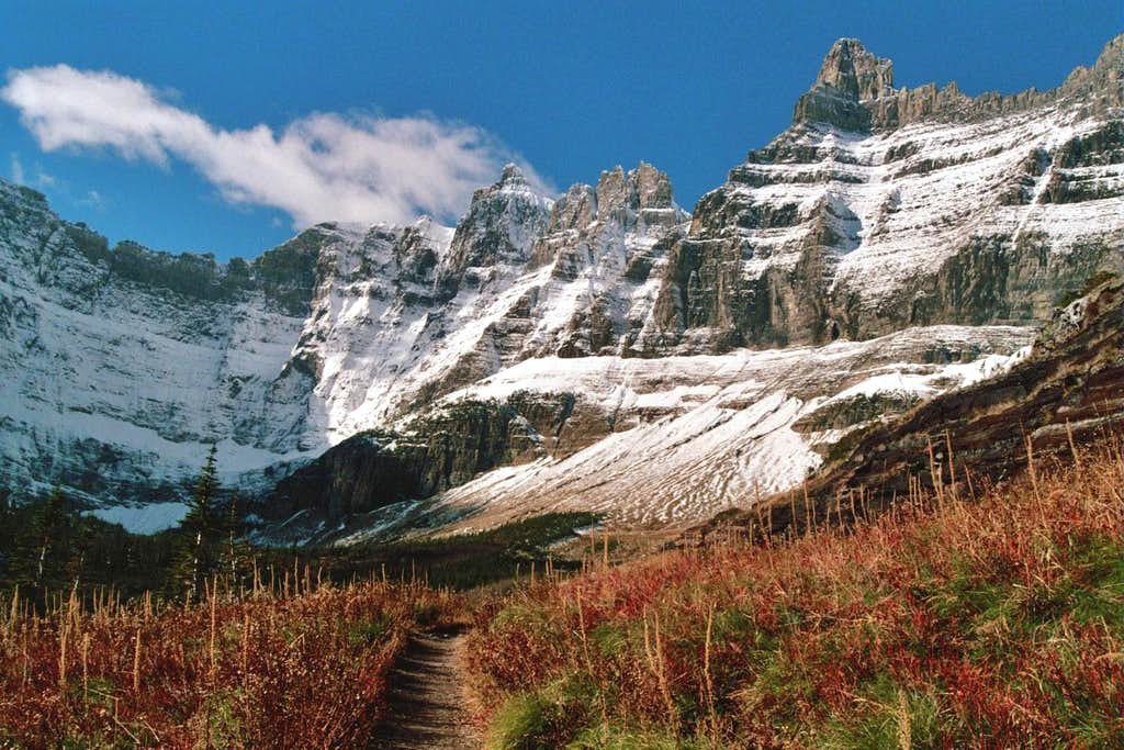 Trail to Iceberg Lake