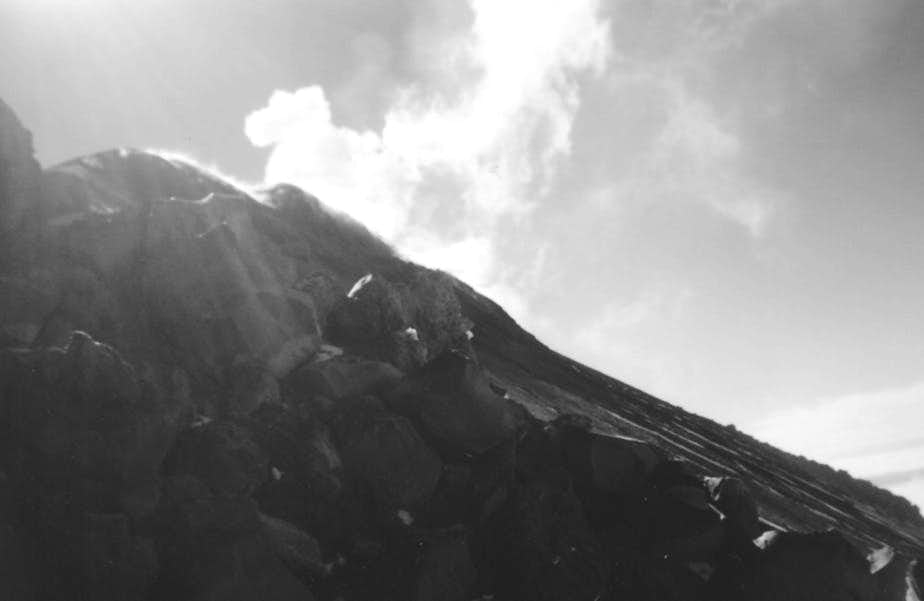 Eruption of Sangay