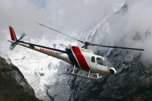 Rescue in Nepal