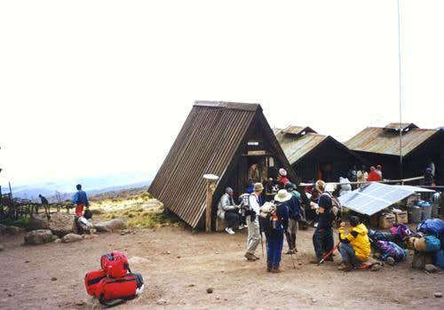 Arrival to Horombo Hut
