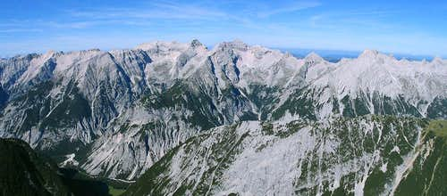 Karwendel Main Ridge