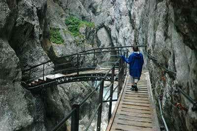 Hoellental Canyon