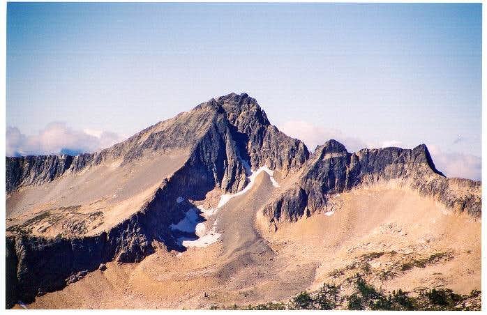Monument Peak as seen from...