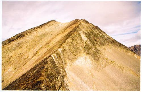 Monument Peak\'s upper south...