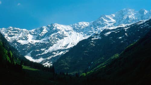 Talligrat Hangendgletscherhorn
