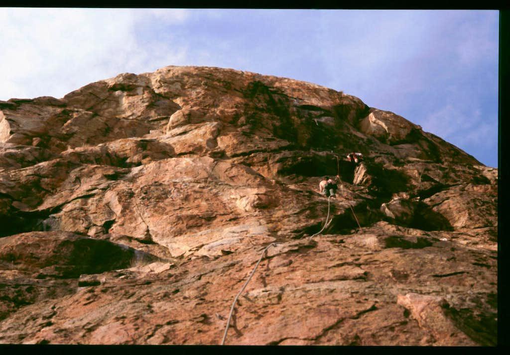 El Cap Wall - Headwall