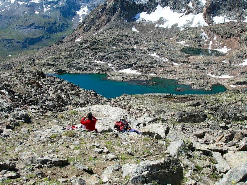 Lago Lussert superiore