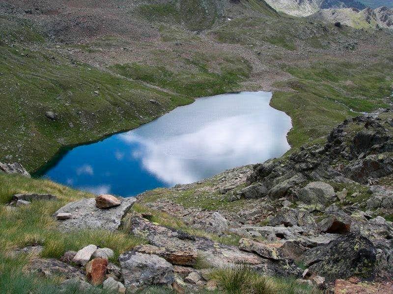 Lago Lussert Inferiore