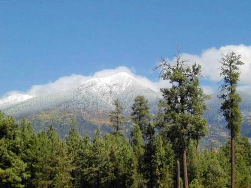 Mt. Humphreys(in the...