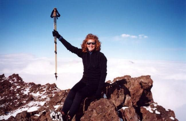 Mary on Summit
