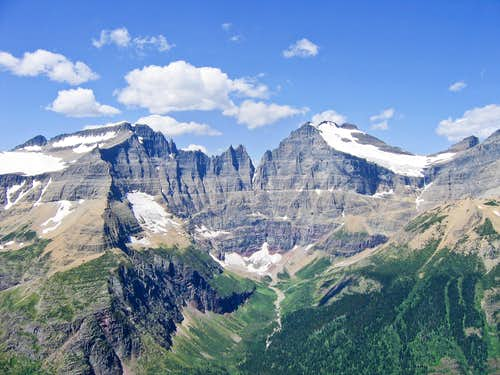 Ipasha Peak, Lithoid Cusp, Mount Merritt