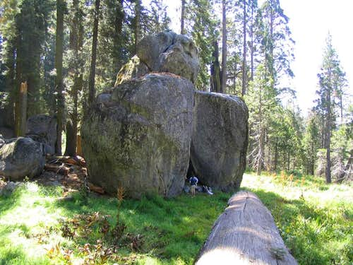 """Elephant Rock"" at Highland Boulders"