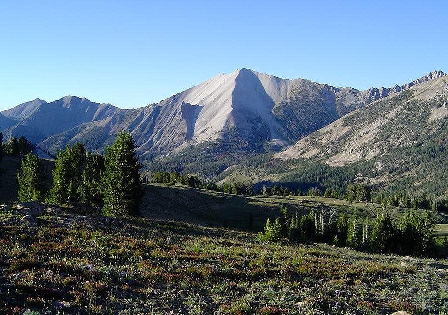 D.O. Lee Peak from Ants Basin