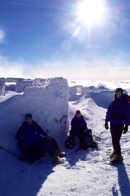 Summit of Ben Nevis with...