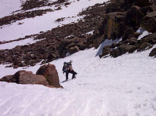 Snow on the Sawtooth