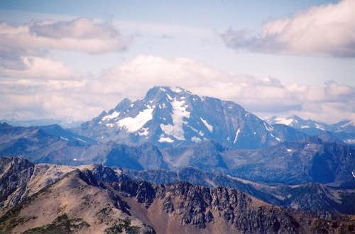 Jack Mountain as seen from...