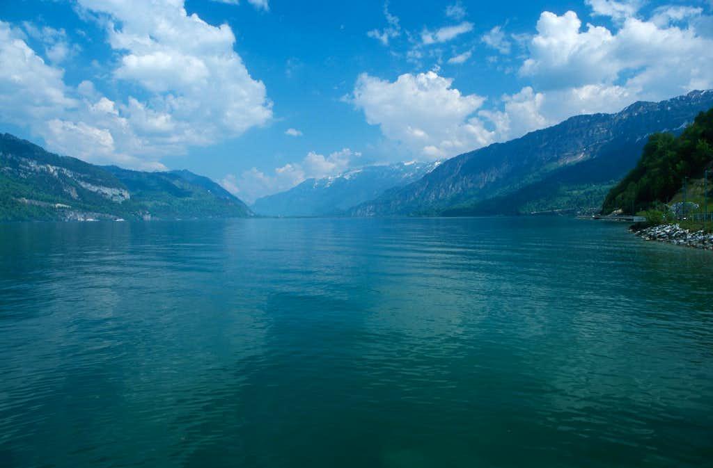 Thun lake.