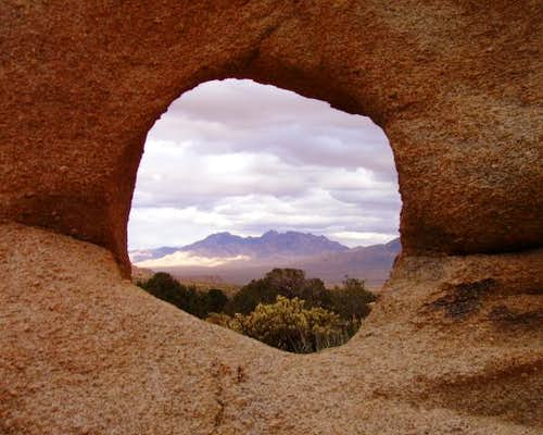 Window in the Granite Mountains