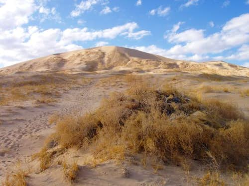 Kelso Dunes & Clouds