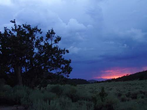 Sunset from Grandview Campground