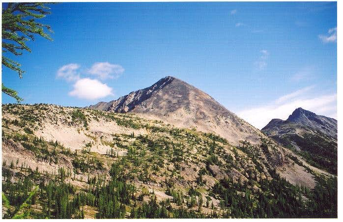 Osceola Peak as seen from the...
