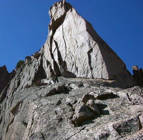 Keyhole Ridge ramp