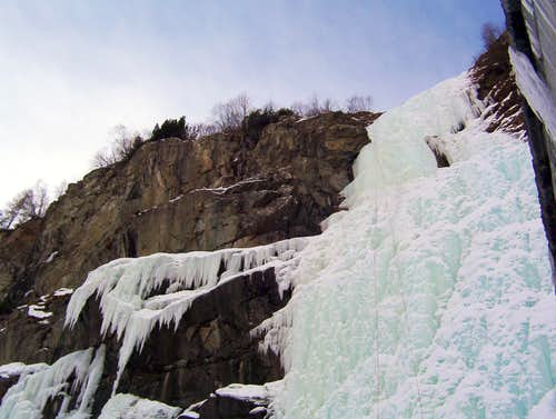 S. Giuseppe central ice fall