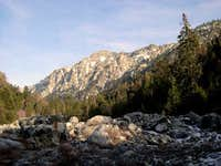 Galena Peak as seen from the...
