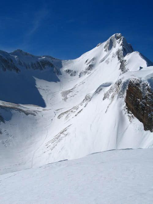 Ski route from Gitschenen