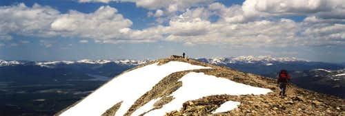 Mount Sheridan\'s Summit
