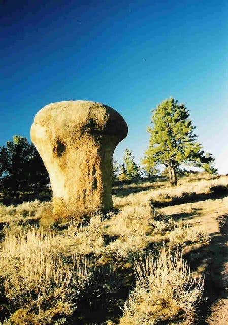 A rock at Vedauwoo
