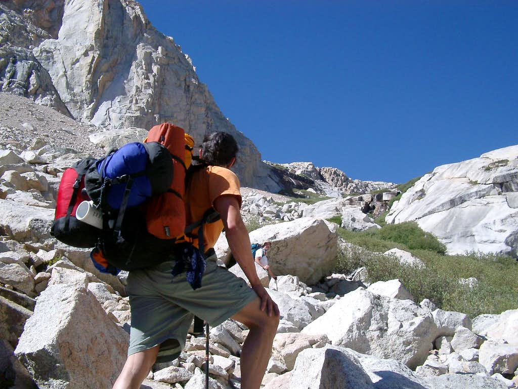 Mt. Whitney via Mountaineer's Route