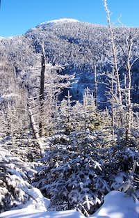 Basin Mountain in Winter