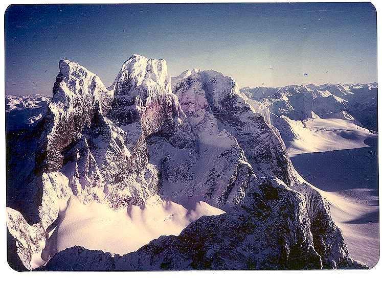 Devil's Paw, Juneau Icefield, Alaska Coast Range.