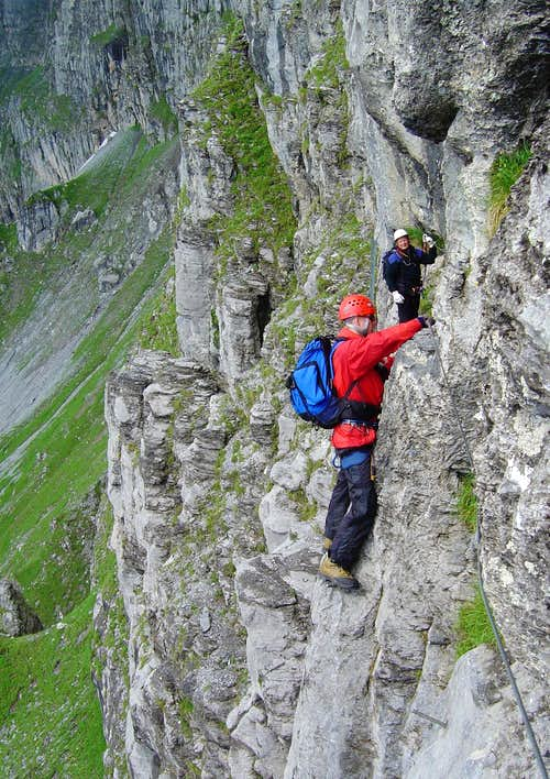 swiss via ferrata