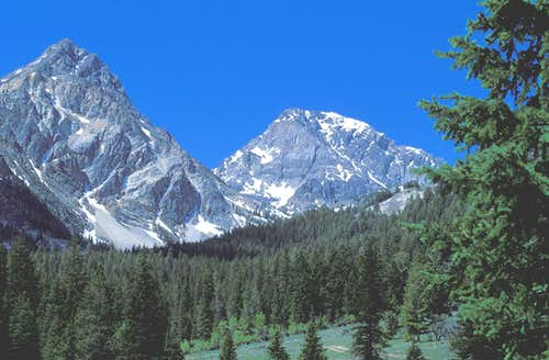 East View of Mt. Idaho