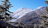 Mt. Haystack in the Sun