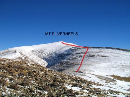 South Ridge on Silverheels