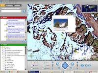 Tré la tête in Google Earth