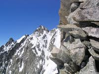 Pnte Baretti from Pic Eccles south face