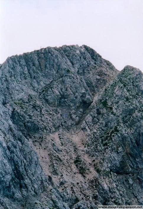 Reisskofel summit ridge
