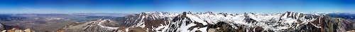 Mt Morrison summit panorama