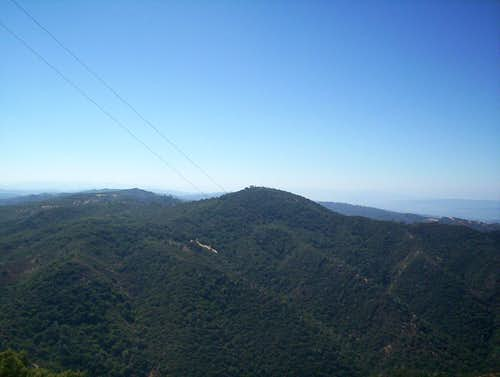Mt. Isabel viewed from Copernicus Peak.