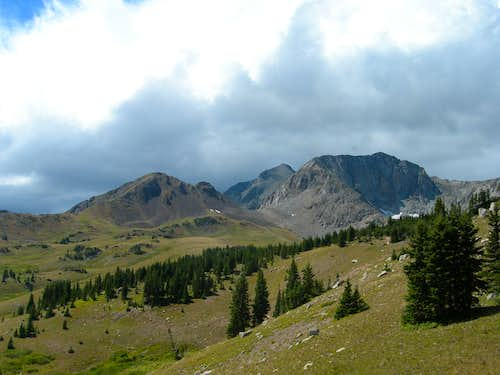 Unnamed Summits in Rocky Mountain National Park