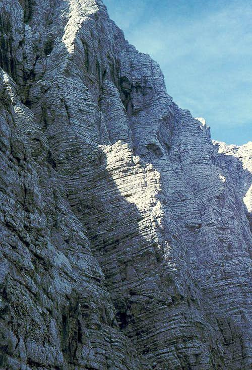 The central part of Triglav...